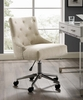 Regent Beige Fabric Office Chair with Pneumatic Lift by Modway