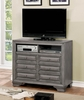 Brandt Gray Wood TV Chest by Furniture of America