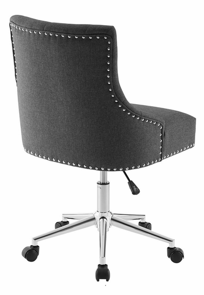 Regent Gray Fabric Office Chair with Pneumatic Lift by Modway