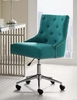Regent Teal Fabric Office Chair with Pneumatic Lift by Modway