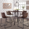 Signature Design Centiar Two-Tone Brown Counter Height Table by Ashley