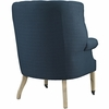 Chart Azure Fabric Upholstered Lounge Chair by Modway