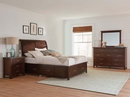 Barstow 4-Pc Pinot Noir Queen Sleigh Storage Bedroom Set by Coaster