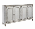 Signature Design Mirimyn Antique White Wood Accent Cabinet by Ashley