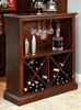 Voltaire Dark Cherry Wood Bar Table by Furniture of America