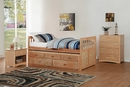 Bartly Natural Pine Wood Chest by Homelegance