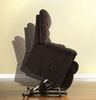 Perth Cocoa Brown Power Lift Recliner by Furniture of America