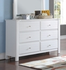 Mallowsea White Pine Wood Dresser by Acme