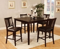 Bridgette 5-Pc Counter Height Table Set by Furniture of America