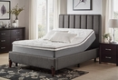"Bedding 12"" King Gel Infusion Memory Foam Mattress by Homelegance"