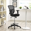 Articulate Black Drafting Chair by Modway
