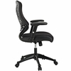 Clutch Black Office Chair by Modway