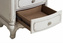 Cinderella Antique White/Grey Wood Lingerie Chest by Homelegance