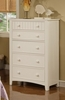 Sheila 3-Pc White Wood Twin Bed Set with Bookcase Headboard by Poundex