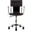 Studio Brown Vinyl Upholstered Office Chair by Modway