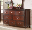 Cecilie Cherry Pine Wood Dresser by Acme