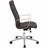 Tile Brown Vinyl Covered Office Chair with Highback by Modway