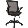 Veer Brown Vinyl Covered Office Chair by Modway
