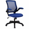 Veer Blue Fabric Covered Office Chair by Modway