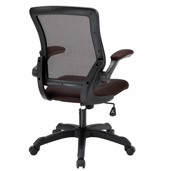 Veer Brown Fabric Covered Office Chair by Modway