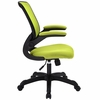 Veer Green Fabric Covered Office Chair by Modway