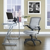 Veer Gray Fabric Covered Office Chair by Modway