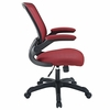 Veer Red Fabric Covered Office Chair by Modway
