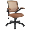 Veer Tan Fabric Covered Office Chair by Modway