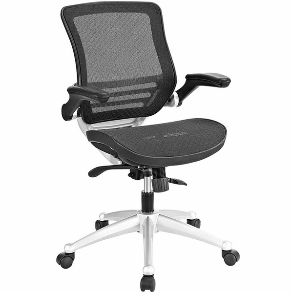 Edge Black Office Chair by Modway