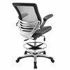 Edge Gray Drafting Chair by Modway