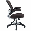 Edge Brown Mesh Office Chair by Modway
