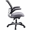 Edge Gray Mesh Office Chair by Modway
