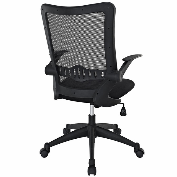 Explorer Black Breathable Mesh Mid Back Office Chair by Modway