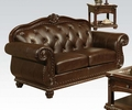 Anondale Cherry Top Grain Leather Match Loveseat by Acme