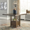 Benchcraft Flaybern Brown Extendable Counter Height Table by Ashley