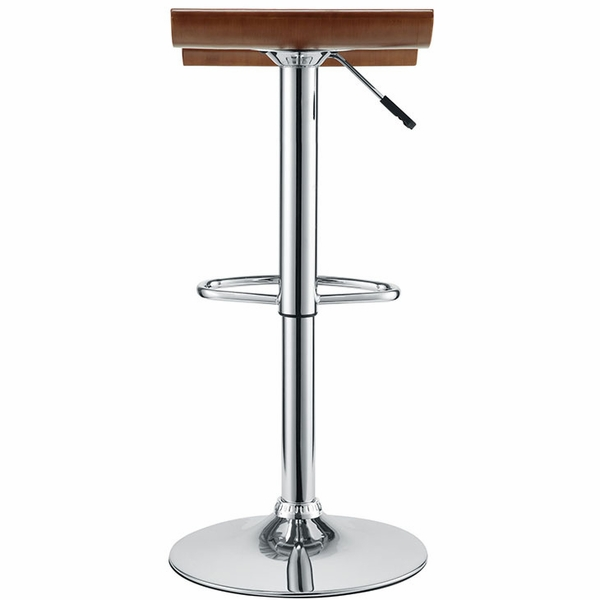Bentwood 2 Oak Wood/Metal Counter Height Stools by Modway