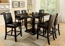 Clayton Dark Cherry Counter Height Table by Furniture of America