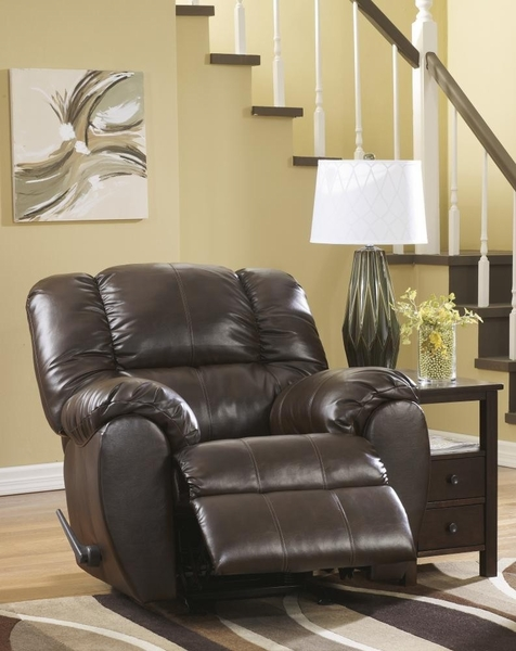 Signature Design Dylan DuraBlend Manual Rocker Recliner by Ashley