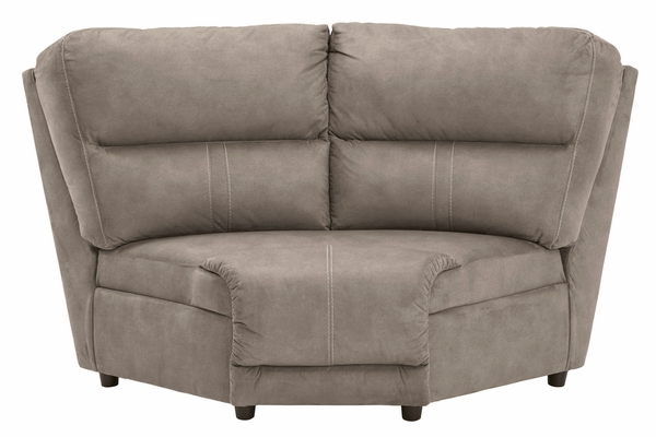 Benchcraft Cavalcade Manual Recliner Sectional (Oversized) by Ashley