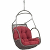 Arbor Red Outdoor Patio Swing Chair by Modway