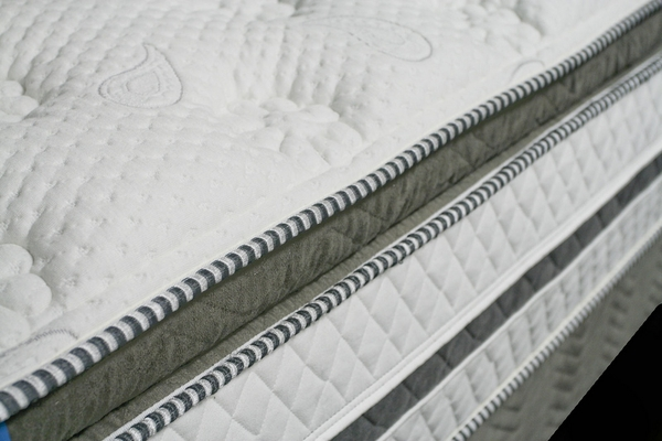 Siddalee White King Pillow Top Mattress by Furniture of America