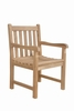 Braxton Treated w/Waterbase Sealer Dining Arm Chair by Anderson Teak