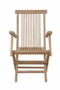 Bristol 2 Treated w/Waterbase Sealer Arm Chairs by Anderson Teak