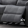 Jim Gray Fabric Manual Recliner Loveseat by AC Pacific