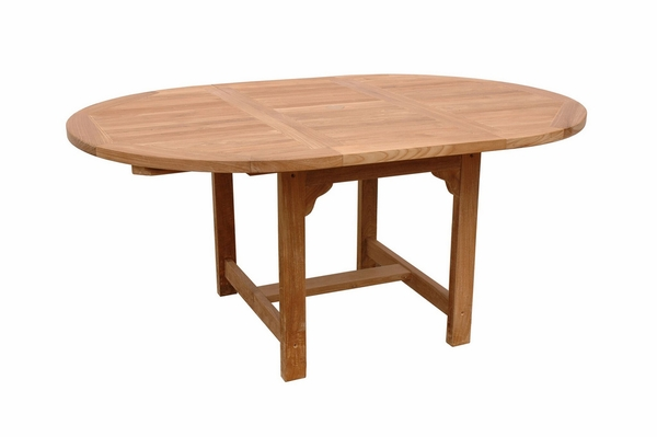 Bahama Natural Finish Smooth Well Sanded Table by Anderson Teak