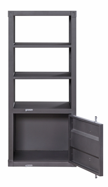 Cargo Gunmetal Finish Metal Right Side Pier by Acme