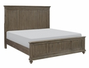 Cardano Driftwood Light Brown Wood Queen Bed by Homelegance
