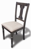 Demi 2 Taupe Fabric/Wood Side Chairs by Best Master Furniture