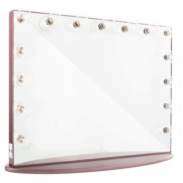 Hollywood Glow Pro Rose Gold Vanity Mirror by Impressions Vanity