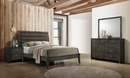 Serenity 4-Pc Mod Grey Wood Twin Bedroom Set by Coaster